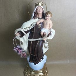 Virgen del Carmen 20cm