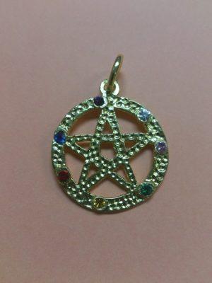 Tetragramatón Calado Cristales Cara