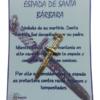 Daga Santa Bárbara Explic