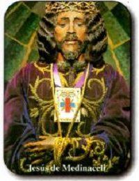 Estampa Cristo de Medinaceli