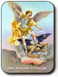 Estampa San Miguel Arcángel
