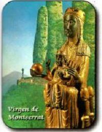 Estampa Virgen de Montserrat