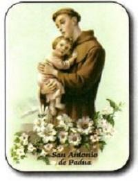 Estampa San Antonio Padua