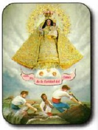 Estampa Virgen de la Caridad del Cobre