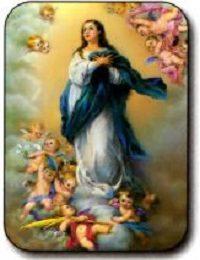 Estampa Inmaculada Concepción de María