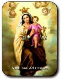 Estampa Nuestra Señora del Carmen