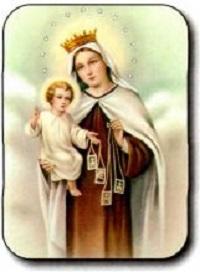 Virgen de Carmen Escapulario